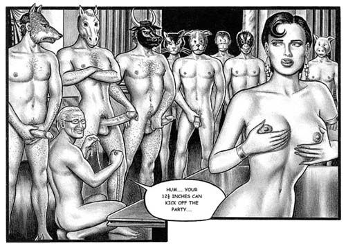 Erotic Art of Hardbrushs Sexy Comics