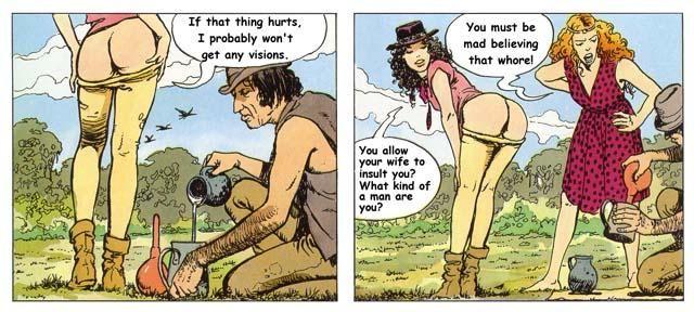 image Milo manara erotic cartoons