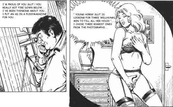 Erotic voyer cartoons casually