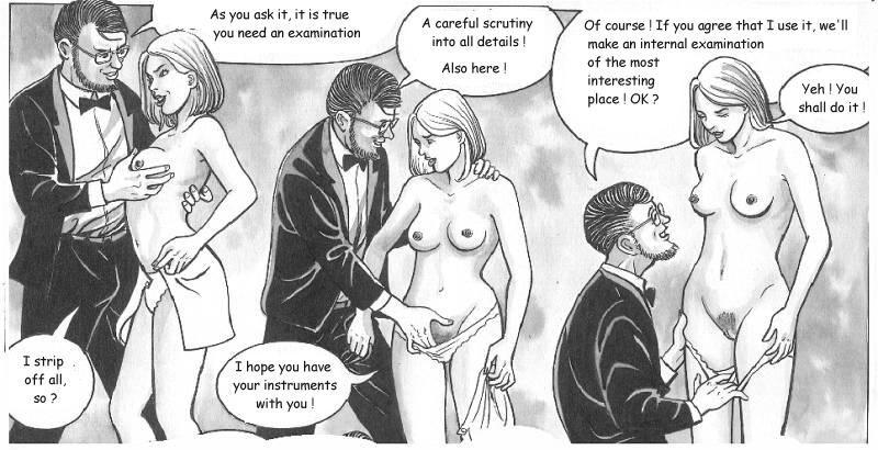 Erotic Cartoons Artists Of Hand Drawn Erotica Pyat Doc Sitter Cartoon 011