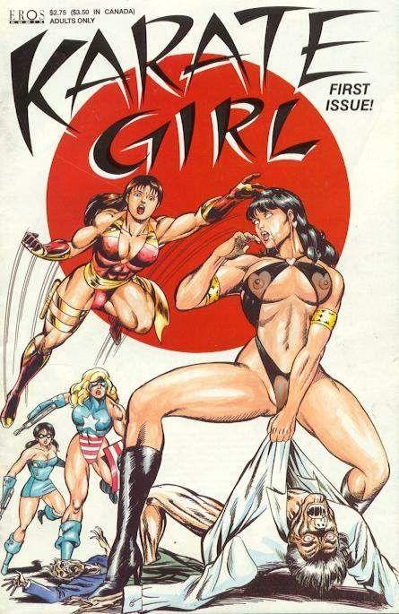 Adult karate girl comics